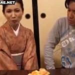 50歳の和服高齢熟女が昔の彼氏似のAV男優に大興奮!