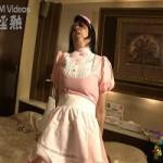 メイド服のお婆さんw即尺からの立ちバック